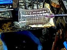 吹きガラス工程7